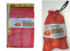 Orange Bag 25 lbs 38.cm w x 68.6 cm h - 1000pcs