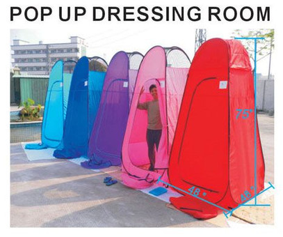 7.58Ft High Portable Instant Pop-Up Changing and Dressing Room Lightweight and Collapsible - California Palms  sc 1 st  California Palms & 7.58Ft High Portable Instant Pop-Up Changing and Dressing Room ...