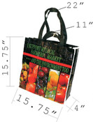 Reusable Recycler Shopping bag (15.75x15.75)