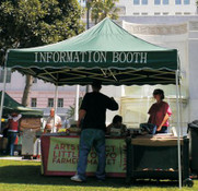Information and Ticket Booth - Call for Pricing