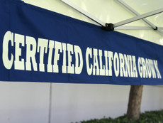 Banner  Certified California Grown Banner - Special Custom Order Call for Price