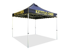 Queen Palm Four Seasons Kettle Corn Frame and Flame Retardant Top 10x10
