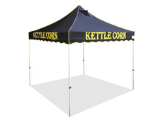 California Palm Four Seasons Kettle Corn Frame and Flame Retardant Top 10x10