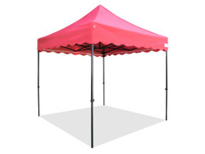 Queen Palm Canopy Frame and Flame Retardant Top (Size:8'x8')
