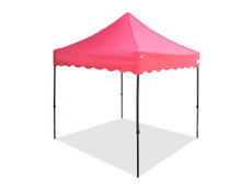 King Palm Canopy Frame and Flame Retardant Top (Size:8'x8')