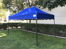 King Palm Canopy Frame and Flame Retardant Top (Size:8'x12')