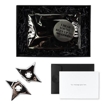 Ninja Star Magnets - Welcome