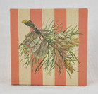Small Gift Box - Holiday Striped Spruce