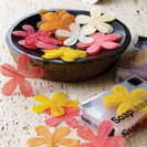 Daisy Flower Soap Leaves