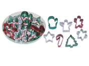 Mini Cookie Cutter Set, 7 Piece - Christmas