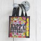 Small Reusable Gift Bag - Happy Birthday
