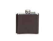 Leather 6 oz. Hip Flask
