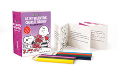 Peanuts: Be My Valentine Coloring Kit