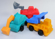 Construction Vehicle Puzzle Eraser