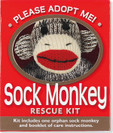 Sock Monkey Rescue Kit