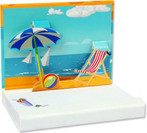 Day at the Beach Pop Up Notepad