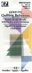 GOLD EYE Hand Quilting Needles size 10