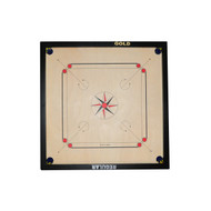 "CARROM BOARD GOLD EDITION - FULL SIZE - 32"" X 32"""