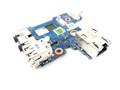 Dell Latitude E6410 Audio Ports / USB / RJ-45 Circuit Board for UMA Motherboard Integrated Intel Video - N3R3T