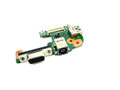Dell Inspiron N5110 Vostro 3550 DC Power USB / VGA Circuit Board - PFYC8
