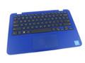 Dell Inspiron 11 3162 / 3164 Blue Palmrest Touchpad Keyboard Assembly - DRTK1