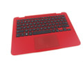 Dell Inspiron 11 3168 / 3169 Red Palmrest Touchpad Keyboard Assembly - C7C8P