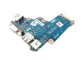 Dell Latitude E6520 Audio / VGA / USB IO Circuit Board - V7001