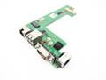 Dell Latitude E5510 Serial Port / Card Reader / USB / Power Button Circuit Board - JGK40