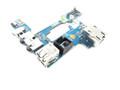 Dell Latitude E6510 Precision M4500 USB / Audio Ports / RJ-45 / 1394 Power Button Board - 3DD5J