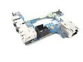 Dell Latitude E6510 / Precision M4500 Audio Port / RJ-45 / USB / 1394 Circuit IO Board - FNW4D