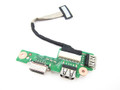 Dell Inspiron 15R N5010 USB VGA IO Circuit Board W/ Cable - FTCC3