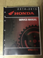 2014-2015 Honda Interceptor 800 / VFR800F / VFR800FD Part# 61MJM01 service shop repair manual