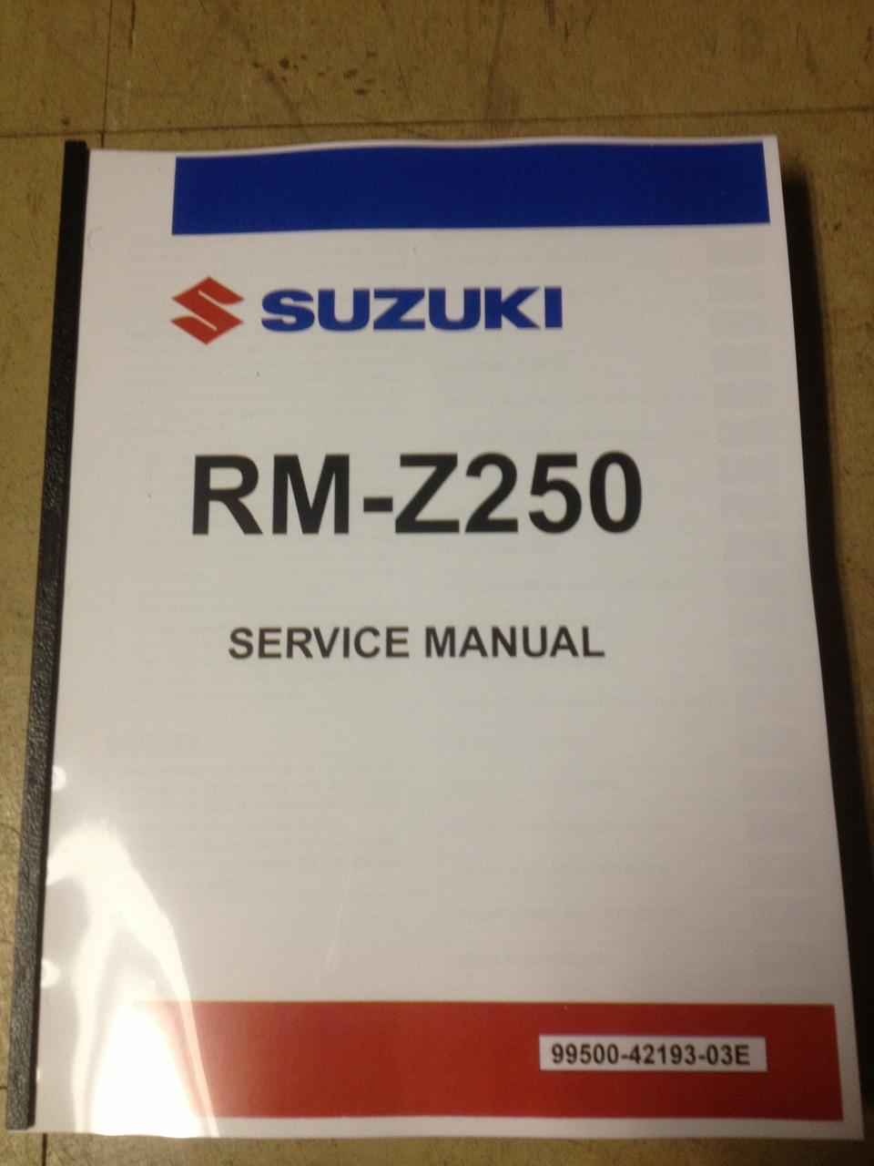 2010 rmz 250 service manual