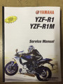 2015 Yamaha YZF-R1 / YZF-R1M Part# LIT-11616-28-52 service shop repair manual
