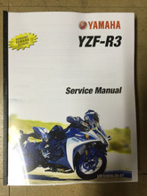 2015-2016 Yamaha YZF-R3 Part# LIT-11616-28-57 service shop repair manual