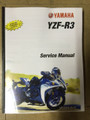 2015-2018 Yamaha YZF-R3 NON ABS Part# LIT-11616-28-57 service shop repair manual