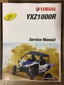 2016-2017 Yamaha YXZ1000R, side X side Part# LIT-11616-29-39 service shop repair manual