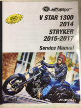 2015-2017 Yamaha Stryker / Bullet Cowl Part# LIT-11616-28-13 service shop repair manual