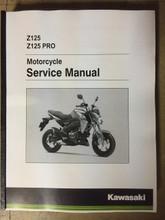 2016-2018 Kawasaki Z125 / Pro Part# 99924-1507-04 service shop repair manual