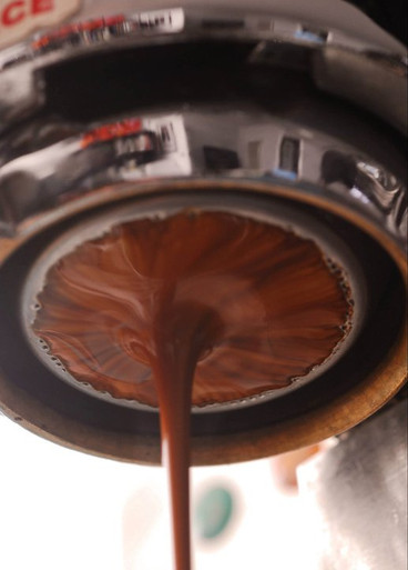 Naked shot of Espresso Torro on my Astra!
