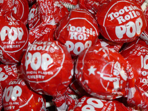 Cherry Tootsie Pops