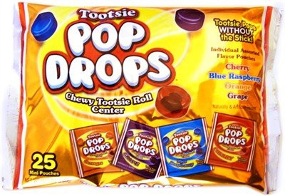 Tootsie Pop Drops Mini Pouches