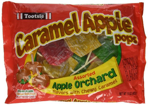 Tootsie Pop Caramel Apple Orchard bag