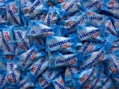 Wrapped Mentos