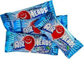 Mini Airheads Blue Raspberry