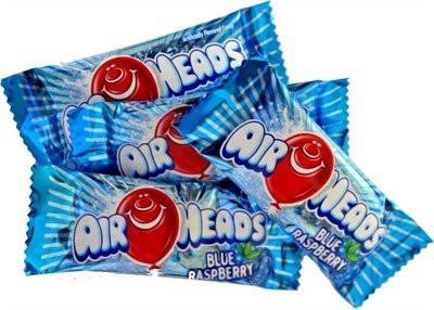Mini Airheads Blue Raspberry