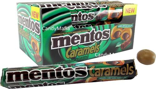 Mentos Caramels - Caramel & Mint Dark Chocolate