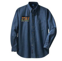 GSCA 2017 MENS INK BLUE DENIM SHIRT