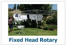 Fixed Head Rotary Clothes Line