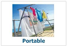 Potable Folding Clothes Lines